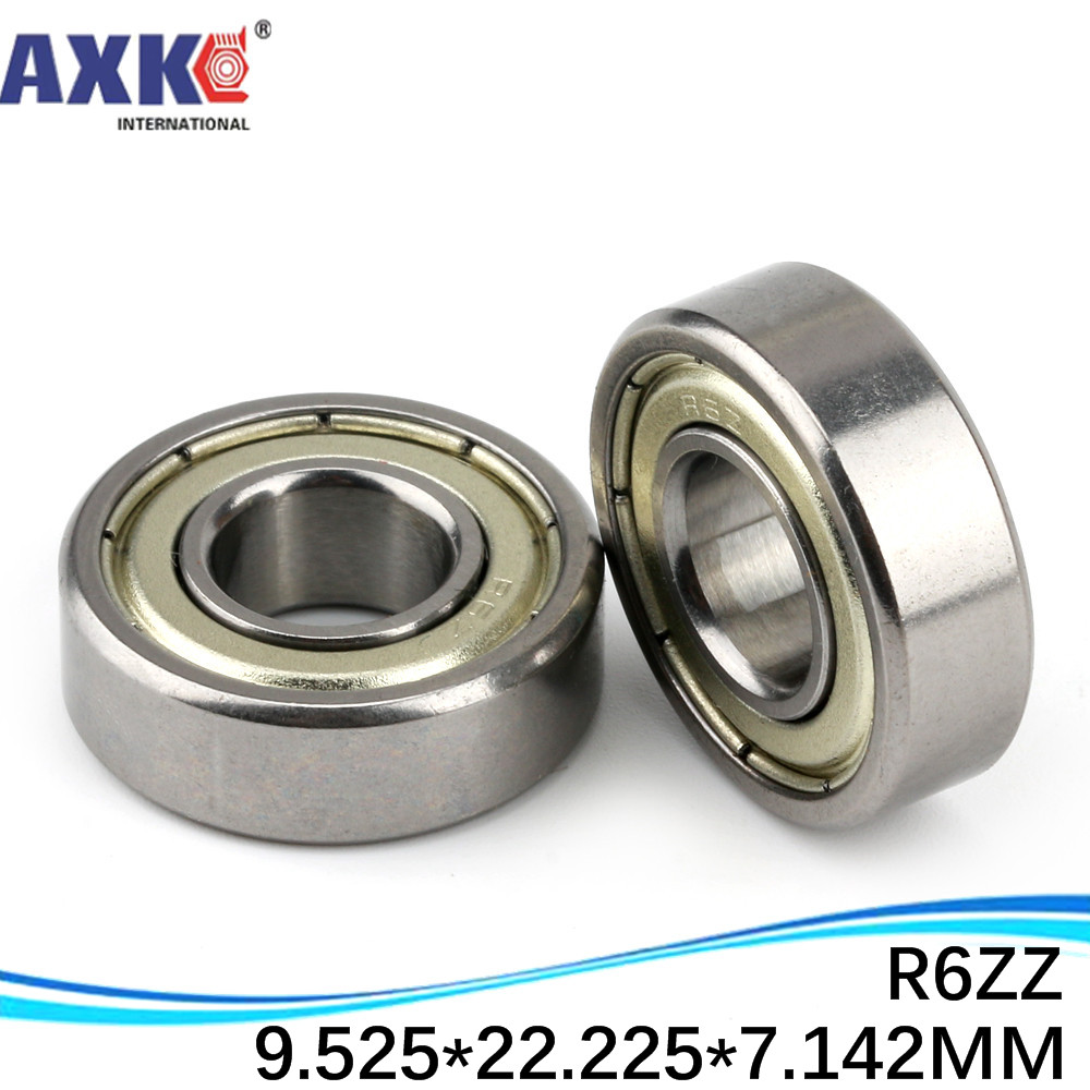 "R6-2RS Radial Ball Bearing 3//8/"" Bore"