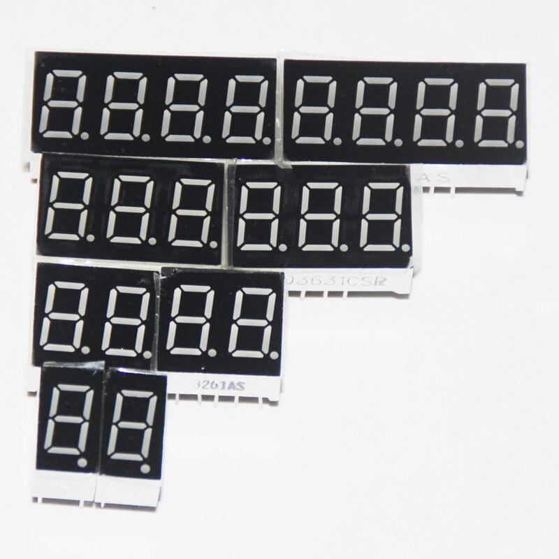 3 inch 1 digit Green Led display 7 segment Common athode