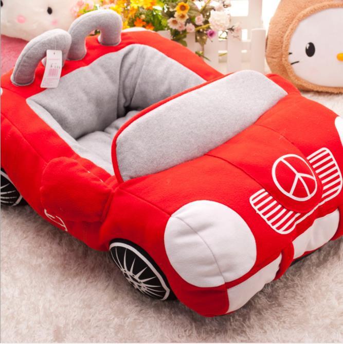 Cool Unique chien voiture lits détachable PP coton rembourré petit chien maison étanche bas chihuahua chiot canapé-lit