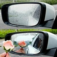 waterproof rain 2Pcs/Set For Car Waterproof Rain Anti Fog Sticker Car Mirror Window Clear Film Anti Dazzle Car Rearview Mirror Protective Film (3)