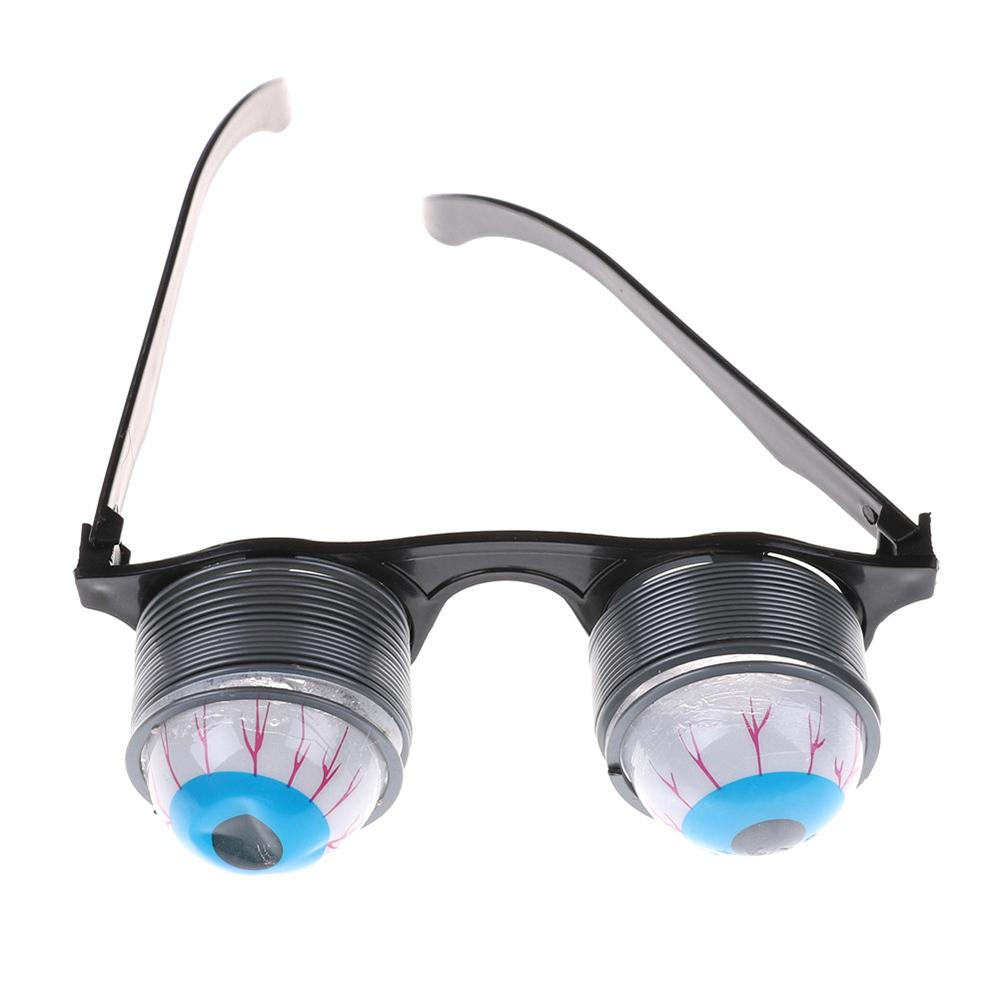 Halloween Out Eye Dropping Eyeball Glasses Horror Masquerade Scary Eyes Glasses Party Prank Funny Joke Toy