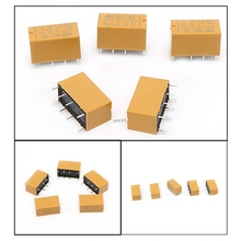 цена на 5Pcs HK19F-DC5V-SHG 1A 125V AC/2A 30V DC Mini Power Relay 8Pin New Hot wholesale