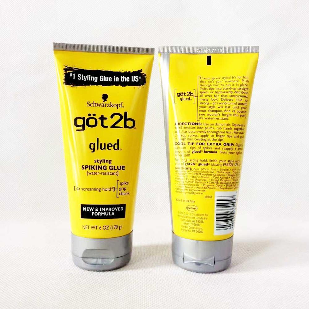 got 2b spray human hair styling gel got2b spray glued 12 oz / 6 oz Freeze Spray Ultra Glued Invincible Styling Hair Gel 1.25oz 4