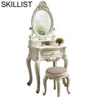 El Dormitorio Coiffeuse Avec Miroir Tocador De Maquillaje Dresser Dressing Table Bedroom Furniture Korean Quarto Penteadeira