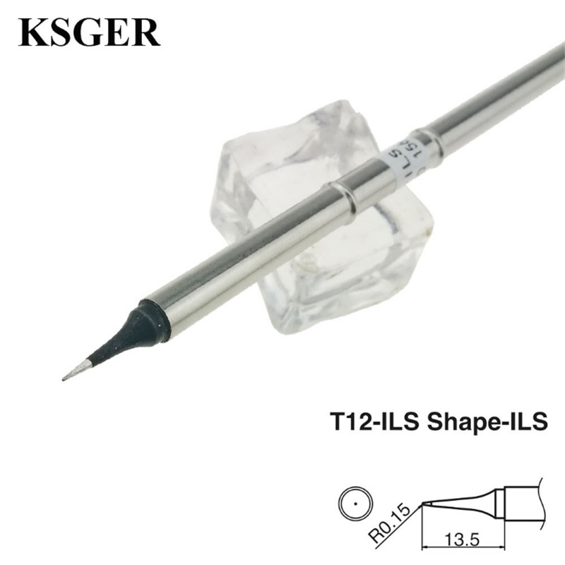 KSGER T12-ILS /K /KU /JL02/BL/D16/ D24/BC2 Electronic Soldering Iron Tips High-grade Welding Tools T12 Soldering Tip 70W
