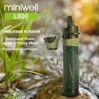 Miniwell wanderer filter outdoor wasser filter camping getriebe-in Sicherheit und Überleben aus Sport und Unterhaltung bei