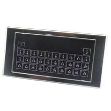 Contacteur sec de module de commutateur de réinitialisation de mur de clavier de 32 boutons pour lautomatisation intelligente de système de contrôle à la maison kc868