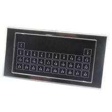 Kc868 스마트 홈 제어 시스템 자동화를위한 32 버튼 키보드 벽 리셋 스위치 모듈 건식 접촉기