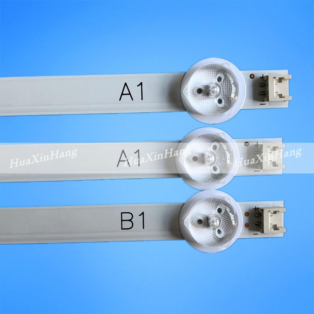Lampu Latar LED Strip untuk 32LB530U 32LN536B 32LN536B 32LN549C 32LN549E 32LN5300 32LN5700 32LN575S AGF78180101 AGF78180001