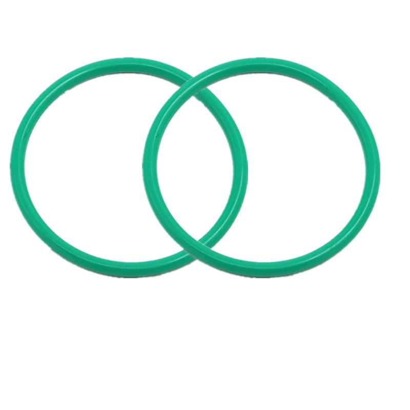 Set da 2 ganci per anelli in gomma per tubi di scarico