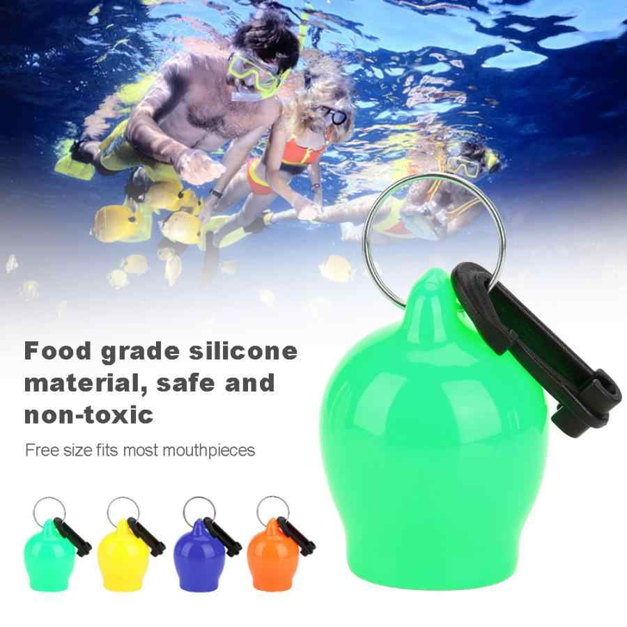 Snorkel Mouthpiece Cover Dustproof Cover Cap Scuba Dive Regulator Octopus Holder Retainer with Clip Diving Equipment