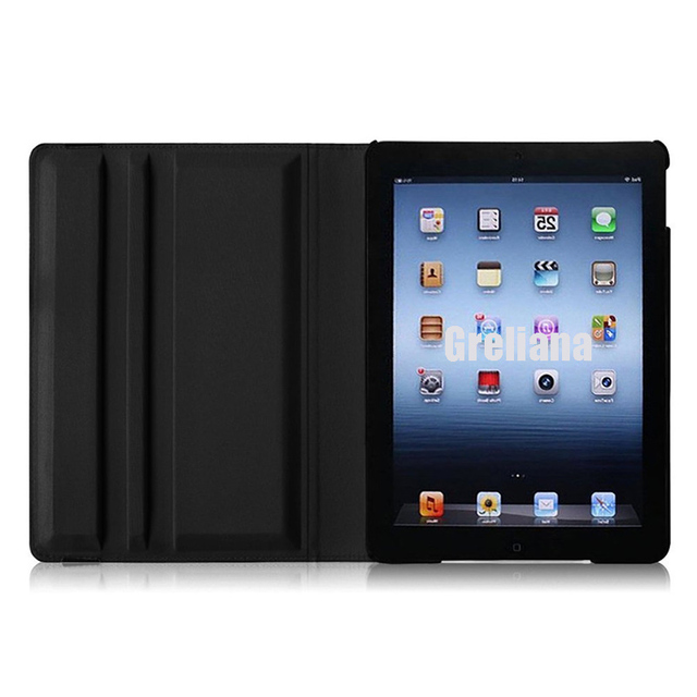 Case for Apple iPad 2 3 4 Magnetic Cover Auto Wake Up Sleep Flip Litchi PU Leather Case Stand Holder for iPad 2/3/4 Smart Cover