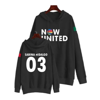 Now United Oversized Women/Men Hoodies Sweatshirts Sabina Hidalgo 03 Pullover Hooded Jacket Male Tracksui Casual Sportswear image