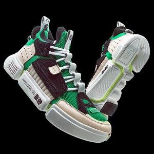 Image 4 - (לשבור קוד) li ning גברים מהות 2 ACE NYFW פנאי תרבות נעלי מונו חוט רירית לי נינג לנשימה ספורט נעלי AGWN041 XYL159