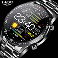 LIGE New 2021 Smart Watch Men Heart Rate Blood Pressure Information Reminder Sport Waterproof Smart Watch for Android IOS Phone