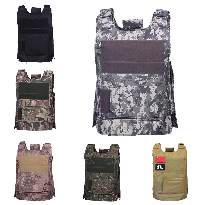 Airsoft Military Tactical Vest Men's Hunting Outdoor Training Combat Waistcoat Molle Armor Army Soilder Jungle Equipment
