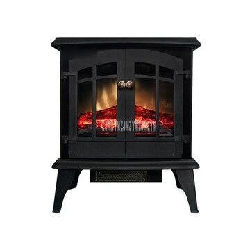 1800 Вт Европейский стиль шкаф электрический камин нагреватель имитация пламени электрический нагреватель для дома, комнаты, офиса декорати...