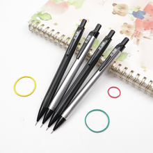 School-Supplies Penholder Automatic-Pencils Metal Professional Painting 4pcs/Lot High-Quality