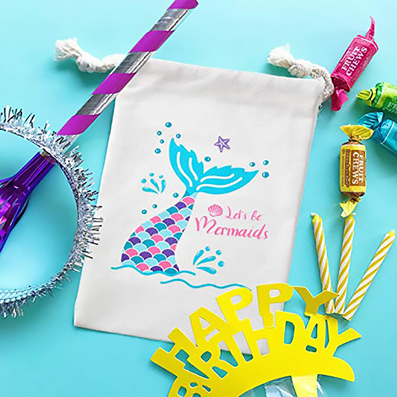 Candy Goodie Bags pool Ocean under the sea Mermaid theme Birthday Party bridal Baby Shower Bachelorette hen Party decoration