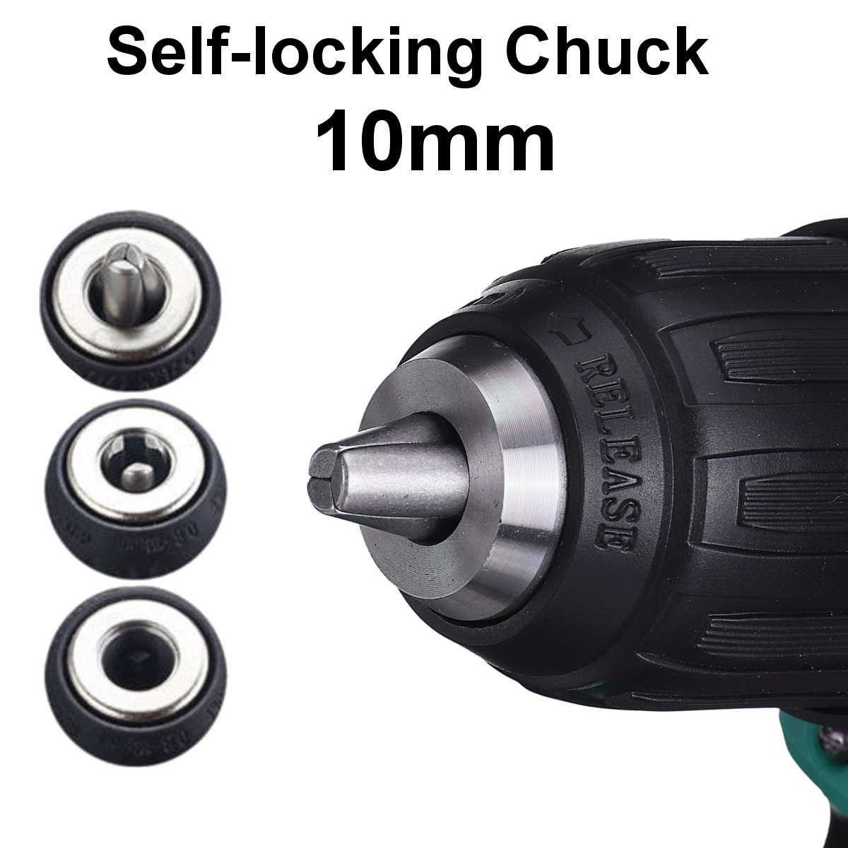 18V Driver Cordless Chuck 10mm Makita 600W Replacement For Battery 4000rpm Electric 520N Drill Impact M Drill