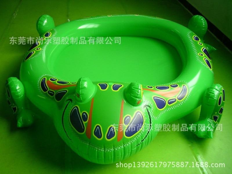 Dongguan PVC Inflatable Frog Pool, Frog Infant Bathtub, Water Spouting Pool Hydrosphere
