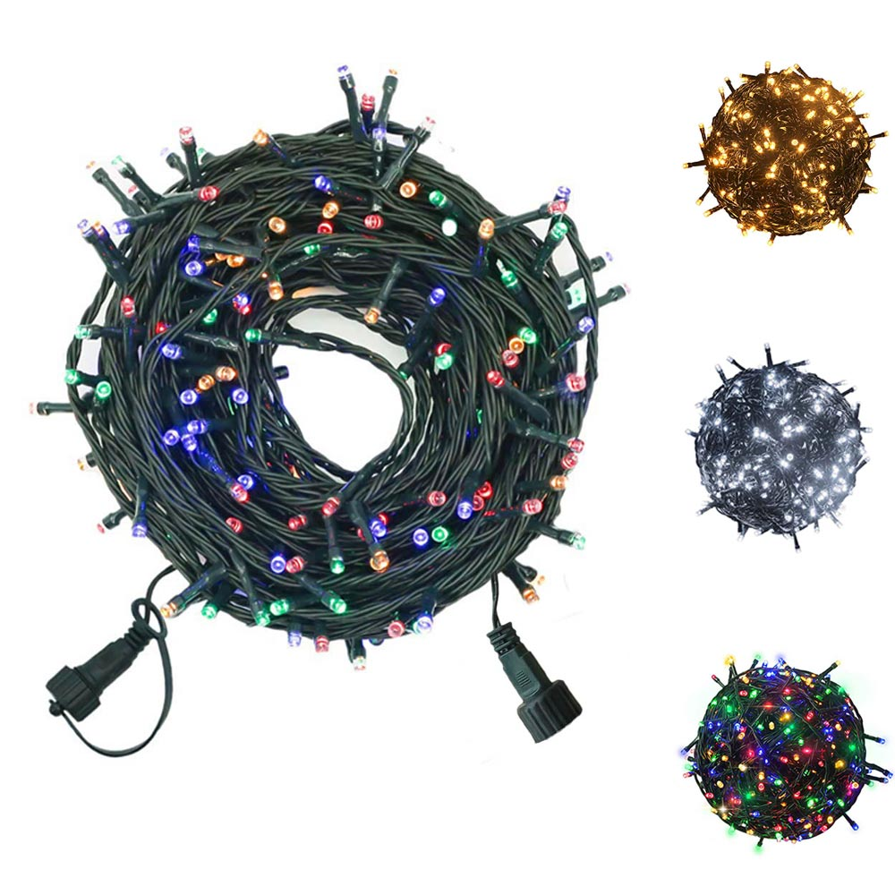 200Leds Fairy String Lights Outdoor Christmas Tree String Lights,29V Lights For Party Wedding Christmas Outside Decoration