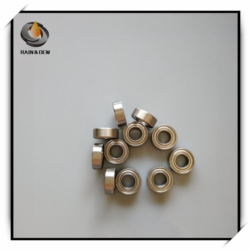 440c Stainless Steel Ball Bearing Bearings 687zz 7x14x5 mm 4 PCS S687zz