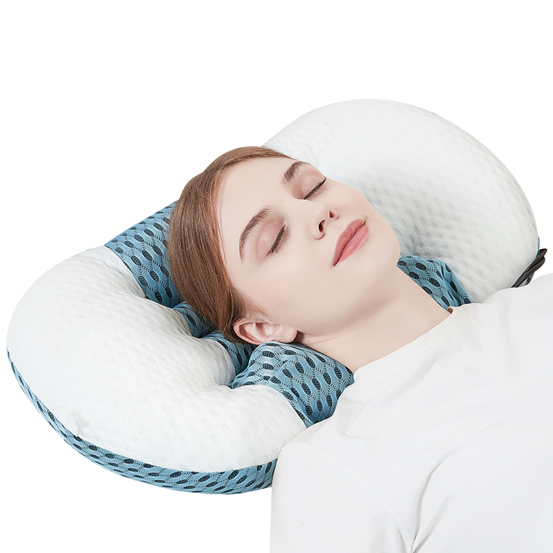 JinKaiRui New Electric Massage Sleep Integrated Pillow Heating Kneading Massage Relieve Fatigue Improve Cervical While Sleeping