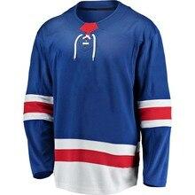 Mens Stitch America Hockey Jersey New York Ice Fans Artemi Panarin Alexis Lafreniere Kaapo Kakko Mika Zibanejad Jerseys