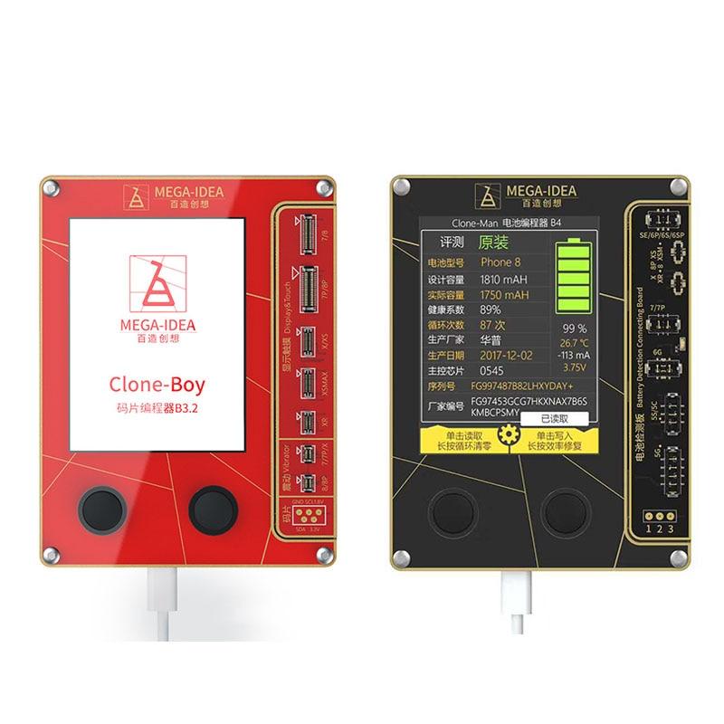 QianLi Mega-Idea LCD Screen True Tone Repair Programmer Vibration Touch battery for IP 7 8 XR XS Max Good as Qianli iCopy