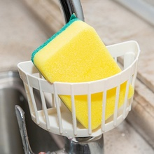 Sponge Drain Rack Multifunction Storage Racks Kitchen Accessory Bathroom Towel Soap Dish Shelf Organizer B