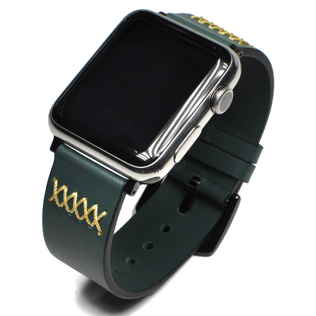 Leather pulsos band for Apple Watch