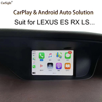 (Touch Pad Type ) New Released Wireless Apple CarPlay for Lexus ES NX UX IS CT RX LC Support Android Auto WiFi iPhone App
