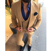 Mens 3 Piece Suits Slim Fit 2020 Custom Made Wedding Men Suits Formal Business Prom Party Suits costume homme smoking