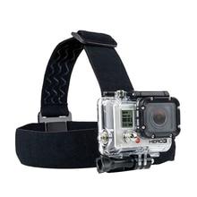 цена на for Go Pro Mount Belt Adjustable Head Strap Band Session for Gopro Hero 6/5/4/3 SJCAM Xiaomi Yi 4k Action Camera Accessories