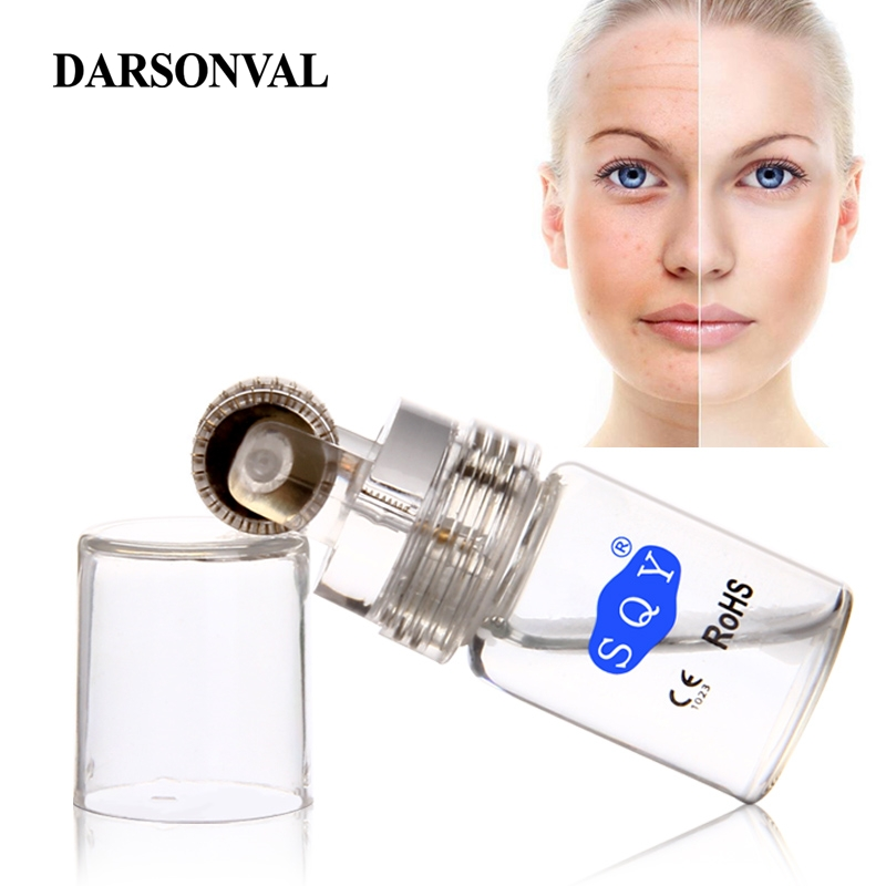 DARSONVAL Derma Roller With Bottle Auto Micro Needles Titanium Microneedle Mezoroller For Skin Care And Hair-loss Treatment