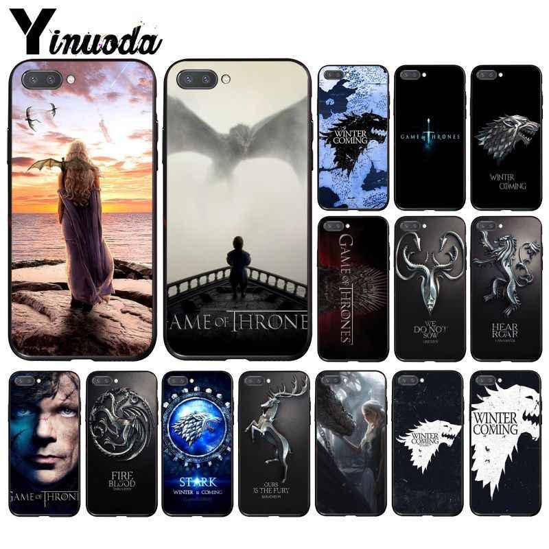 Yinuoda لعبة عروش الذئب الهاتف حافظة لهاتف huawei الشرف 8A 8X9 10 20 لايت 7A 5A 7C 10i 20i