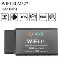 WIFI Scanner Para Mercedes AMG Brabus OBD2 W212 W213 W210 W211 W205 W124 W177 W263 W166 W251 X253 C218 C208 W221 W220 IOS Android