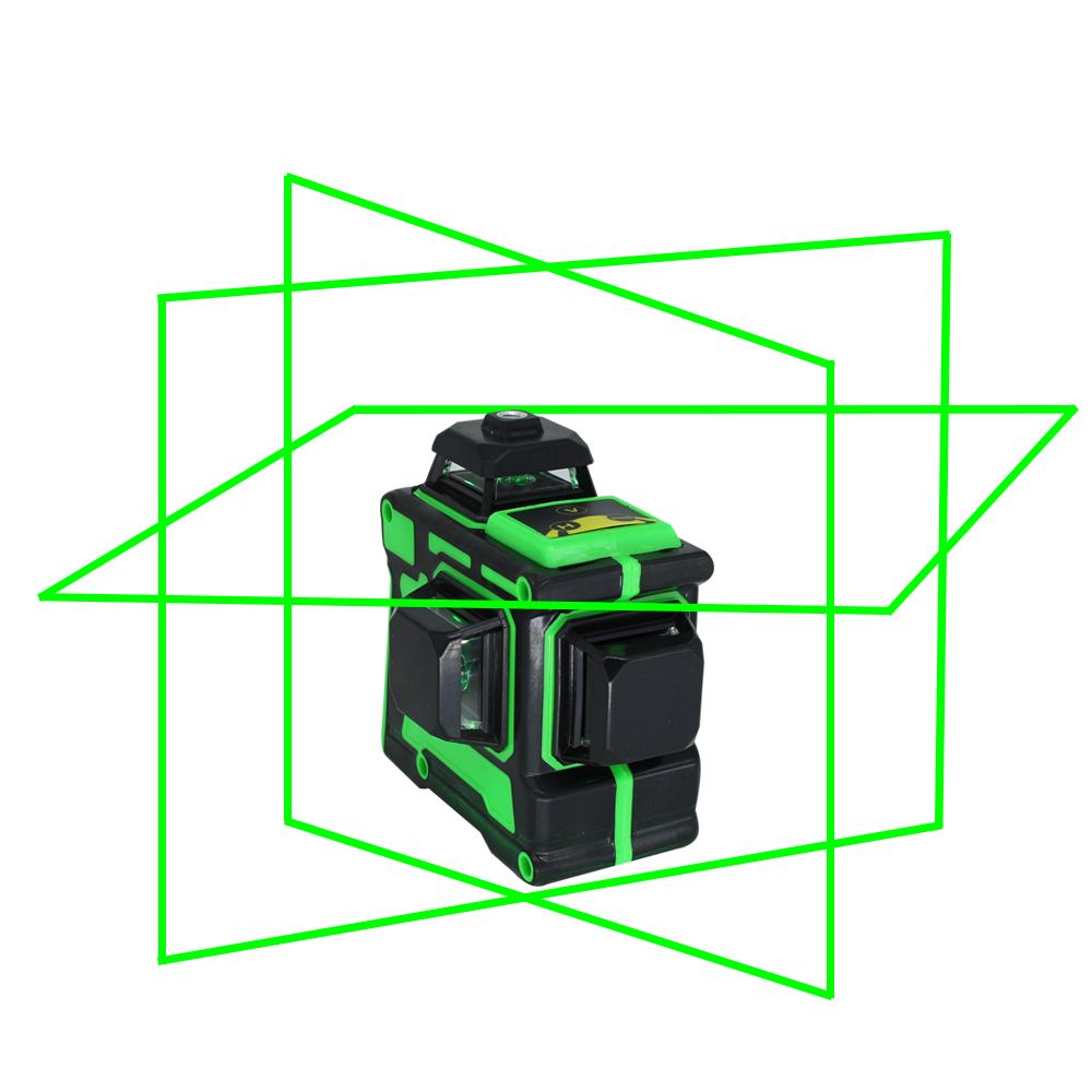 Thick Beam 3D 360 Super Green Horizontal Vertical B Cross Leveling BIGGRIT Lines Self And Laser 12 Lines Powerful Laser Level