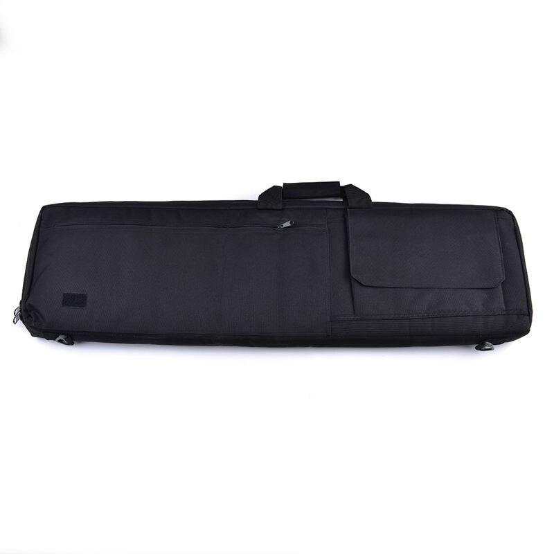 rifle arma saco de transporte espingarda caso ombro rifle saco bk 100cm