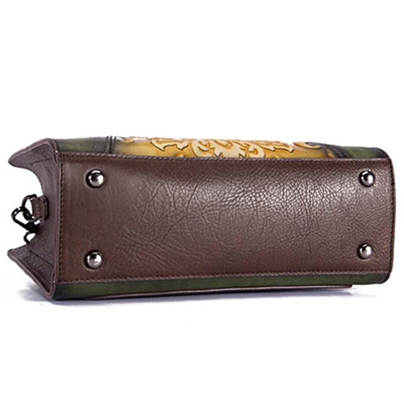 Pyaterochka Berühmte Marke 2019 Trend Handtasche Frauen Aus Echtem Leder Luxus Casual Schulter Taschen Hohe Qualität Günstige Hand Tasche - 6