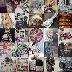 Image 5 - 50 قطعة ملصقات للماء لا مكررة مزيج الكرتون ملصقا الأطفال الكبار على كمبيوتر محمول حقيبة هدية الكريسماس PVC الأزياء ملصقا