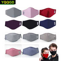 1Pcs Multi Color Cotton PM2.5 Black mouth Mask anti dust mask Activated carbon filter Windproof Mouth-muffle bacteria proof Flu