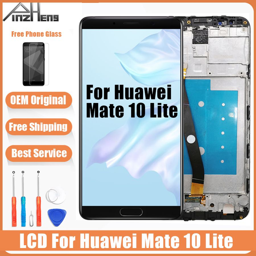 AAAA Quality Original LCD For Huawei Mate 10 Lite Touch Screen Display LCDS RNE-L21