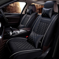 leather car seat cover For peugeot 206 107 307 sw 301 508 308 4007 2008 5008 3008 all models car accessories