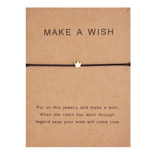 10*7,5 см Загадай перец узкое платье тканые регулируемый браслет Модные украшения подарок для Для женщин, Для мужчин, для детей - Окраска металла: BR18Y0391-1