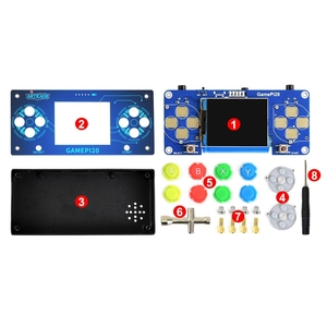 Image 2 - Retail 2 Inch DIY Game Console GamePi20 Mini Video Game Console for Raspberry Pi IPS Display