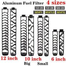 Filtre à solvant en aluminium à noyau unique, pour NAPA WIX 1/2, 1/2, 5/8, 1.5, 20, 4003, 28, 24, M14 x 1, M14 x 24003, M14 x 1l, 12, 10, 6 pouces, nouveau