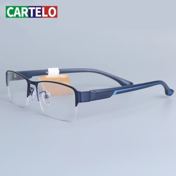 CARTELO Spectacle fraMes Eyewear Glasses Frame New Fashion Optical Men Eyeglasses Eye