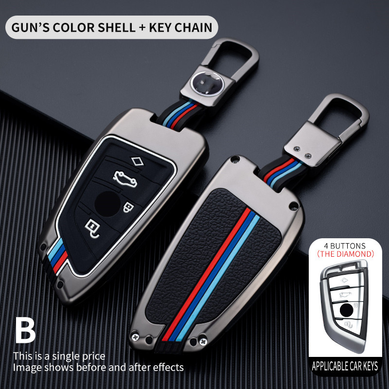 Чехол для ключей автомобиля, чехол для ключей для Bmw F20 G20 G30 X1 X3 X4 X5 G05 X6, аксессуары, держатель для стайлинга автомобиля, защитный чехол для клю...
